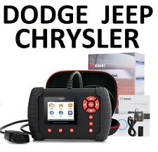 DODGE JEEP CHRYSLER Diagnostic Scanner Tool ABS SRS Code Reader VIDENT iLink400