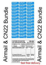 More details for cn22 labels & airmail stickers bundle