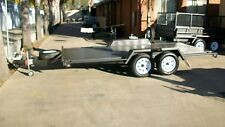 "14x6'6"" Basic Open Car Carrier Tandem Trailer"