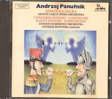 PANUFNIK - Sinfonia Sacra / Concertino / Concerto Festivo / Landscape etc