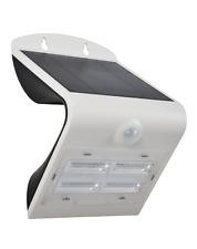 Specter Solar LED Wall Light Outdoor, with PIR Motion Sensor 3.2Watt - Bright