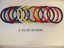 18 GXL HIGH TEMP AUTOMOTIVE WIRE 25 FEET YOUR CHOICE OF 11 DIFFERENT COLORS