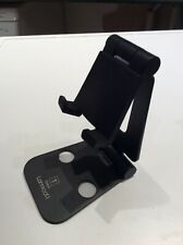 FOLDING Phone and Tablet Stand for iPhone & iPad in BLACK Aluminium
