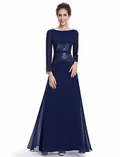 Polyester Dry-clean Only Formal Maxi Dresses for Women