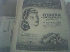 newspaper advert 1947 - endura home permanent surray