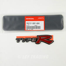 Authentic  JDM Honda Civic Type R Rear Emblem EP3 2001-2005, 75717-S5T-E01