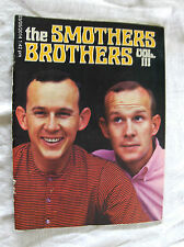Smothers Brothers Vol III 1966 Tom & Dick concert. Vry gd cond. unfaded w map