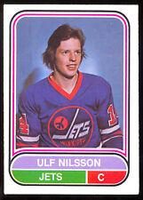 1975 76 OPC O PEE CHEE WHA #83 ULF NILSSON EX-NM WINNIPEG JETS HOCKEY CARD