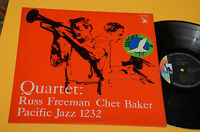 CHET BAKER QUARTET LP ORIG JAPAN LIBERTY ! EX MEGA RARE ! TOP AUDIOFILI JAZZ