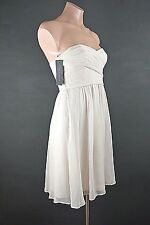 NEW Ann Taylor Dress Petite 0P Strapless Baby Pink Mini Cocktail Prom Dress NWT