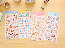 Japan Kanahei Kitty Bunny Chicken Stickers Piske & Usagi 1pc