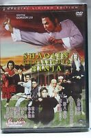 Shaolin challenges Ninja gordon liu ntsc import dvd