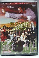 Shaolin challenges Ninja gordon liu ntsc import dvd