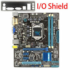 ASUS P8H61-M PLUS Genuine Intel H61 Motherboard LGA 1155 VGA+DVI DDR3 I/O Shield