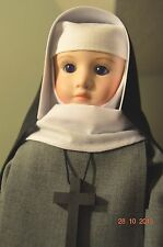 Nun doll American Episcopal The Order of St. Anne The Mutual Friends 15 1/2 ""