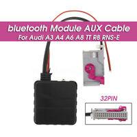 Hi-fi A2DP Car bluetooth Module Aux Adapter for Audi A3 A4 A6 A8 TT R8