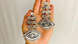 Milagro Silver Earrings. Taxco. Mexico. Frida Kahlo
