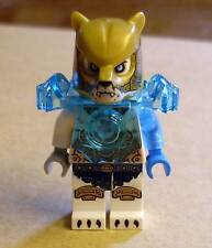 Lego Legends of Chima - Icebite Figur ( Rüstung Ice Bit Eisbeit weiss blau ) Neu