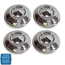 1961-62 Impala Stock Steel Wheel (Poverty Or Dog Dish) Hubcaps - Set of 4