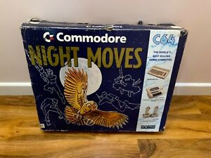 Vintage Commodore 64 Night Moves C64 *** EMPTY BOX ONLY *** Ideal Replacement