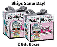 In Hand 2 LOL Present Surprise Gift Box Big Sister Birthday Month Party Doll NEW