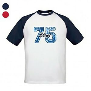 Birmingham City F.C - Personalised Mens T-Shirt (BASEBALL VARSITY NUMBER)