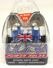Pair of H4 Ultra Power Xenon Ice blue super white head light headlight Bulbs 271