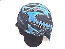 Genuine Harley Davidson Blue Wild Streak Design Head Wrap HW15489