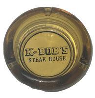 Vintage K-Bob's Steak House Ashtray