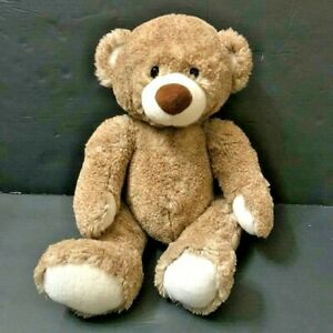 "Ganz  Brown Teddy Bear Plush Stuffed Animal 15""  H13879 Oates Soft Fluffy"
