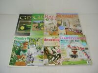 Lot of 8 Assorted Country Magazines 1996 to 2018
