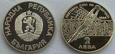 Bulgarien / Bulgaria 2 Leva 1986 p155 PP / proof