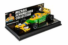Benetton Ford B192 Michael Schumacher Collection n°1 1:43 Minichamps Belgian GP