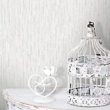 SHEENA SNOW WHITE GLITTER TEXTURED CROWN FEATURE DESIGNER WALLPAPER M0814
