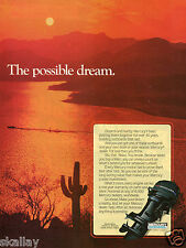 1981 Print Ad of Mercury 50 Outboard Boat Motor
