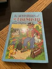 The Adventures Of Mr Pink Whistle By Enid Blyton 1970 Hardback