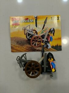 "Lego Castle ""CROSSBOW CART"" #1712 - USED 100% COMPLETE w/ Instructions - RARE!"