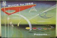 1956 Buick Roadmaster Super Century Special Riviera Estate Wagon Sales Brochure