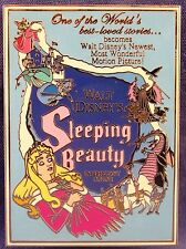 Disney Shopping Store Sleeping Beauty Aurora Movie Poster Pin Le 250