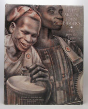 John Biggers SIGNED to Richard Yarde - Art of: View from the Upper Room - HC/DJ