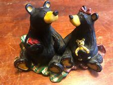 Bearfoots Bears Jeff Fleming Big Sky Figurine ~Christmas Morning~