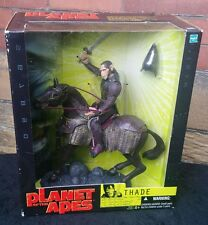 2001 HASBRO PLANET OF THE APES THADE WITH BATTLE STEED MYTHIC LEGIONS SCALE