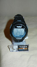 Timex Ironman Triathlon Indiglo Men's Watch Black Model # T5K608 NEW