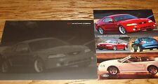 2000 Ford Mustang Cobra Sales Brochure Lot of 2 00