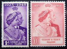 Gilbert & Ellice Scott # 54-55, Mint Original Gum (HR)