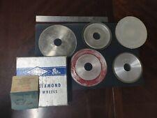 Vintage CBN - Diamond? Grinding Wheels - Soviet Union era - Machining Tools