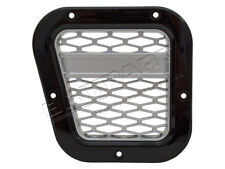 Defender XS Side Air Intake Grille Gloss Black With Silver Mesh - DA1972