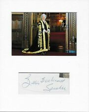 Politics Betty Boothroyd genuine authentic signed autograph signature AFTAL COA
