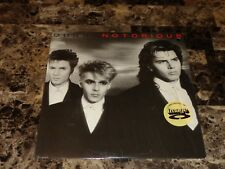 Duran Duran Notorious Vinyl Record Nick Rhodes Direct Metal Mastering Masterdisk