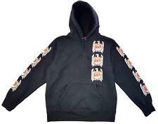 Supreme Slayer Eagle  Hooded Sweatshirt Black Size Large Mens Hoodie FW16